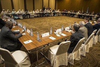 Une délégation du Conseil de sécurité des Nations Unies rencontre le Comité de suivi de l'accord de paix malien (photo d'archives).