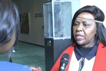 Joyce Laboso, gavana wa kaunti ya Bomet nchini Kenya katika mahojiano maalum na Idhaa ya Kiswahili hapa jijini New York Marekani.