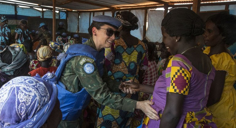 Brazilian officer a 'stellar example' of why more women are needed in UN peacekeeping