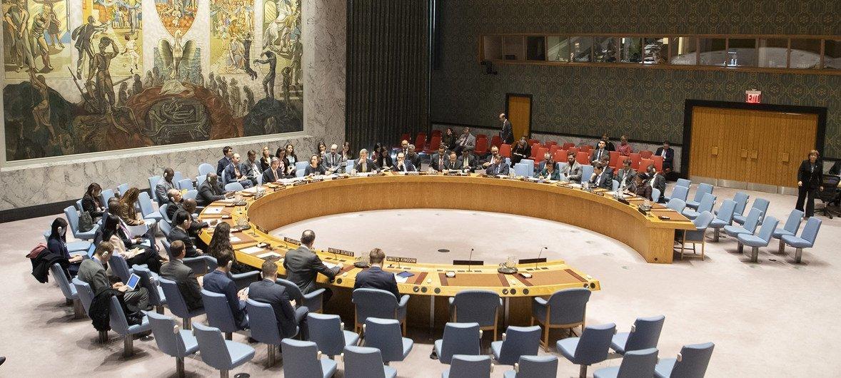 Заседание Совета Безопасности по Венесуэле