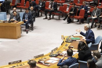Security Council meeting on the situation in the Middle East. 27 March, 2019.