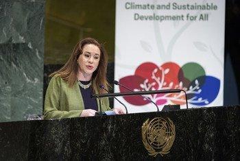 Председатель Генеральной Ассамблеи ООН Мария Фернанда Эспиноса