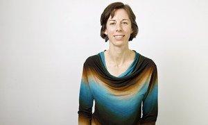 Sara Siebert, directrice du programme « Repenser le pouvoir » avec l'ONG Beyond Borders qui lutte contre les violences faites aux femmes en Haïti