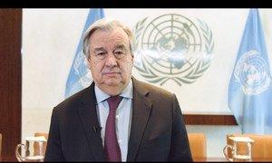 Secretário-geral da ONU, António Guterres
