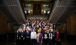First International Symposium for Youth Participation in Peace Processes takes place in Helsinki, Finland. March 2019