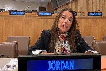 الدكتورة عبلة عماوي الأمينة العامة للمجلس الأعلى للسكان في الأردن