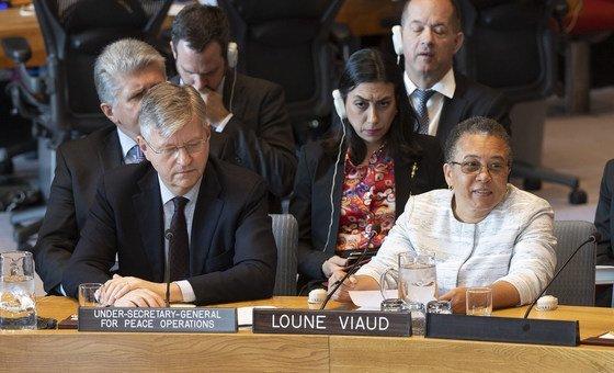 Jean-Pierre Lacroix fez balanço no Conselho de Segurança sobre situação no Haiti em abril de 2019.