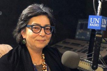 Мария Воронцова, старший советник по вопросам охраны океанов Международного фонда защиты животных, в студии Службы новостей ООН