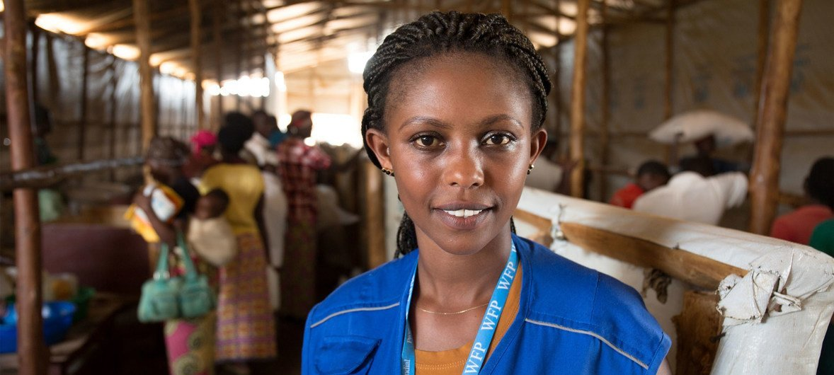 25 years after the Rwanda genocide, survivor Liberée Kayumba, a Monitoring Officer with WFP, is now helping refugees coming to the country.