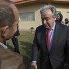 联合国秘书长古特雷斯访问了利比亚首都的黎波里。