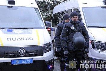 В трех областях Украины отремонтировлаи 20 полицейских участков. Сотни стражей порядка получили средства индивидуальной защиты