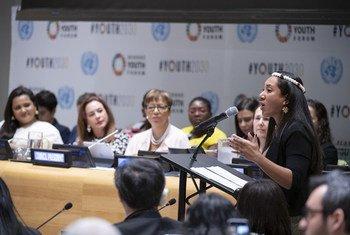 يوفر منتدى الشباب الثامن للمجلس الاقتصادي والاجتماعي التابع للأمم المتحدة، بالتركيز على التمكين والشمول والمساواة منصة للقادة الشباب من جميع أنحاء العالم للدخول في حوار مع بعضهم البعض وأيضا مع الدول الأعضاء، لمناقشة موضوعات مثل تحقيق أهـداف التنمية المست