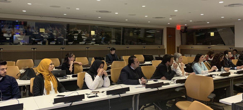 """نظمت كل من بعثة الأردن واليابان في الأمم المتحدة وبرنامج الأمم المتحدة الإنمائي منتدى بعنوان """"أجندة الشباب 2013، الابتكار وريادة الأعمال في المنطقة العربية""""."""