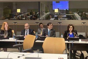 """نظمت كل من البعثة الدائمة للمملكة الأردنية الهاشمية في الأمم المتحدة والبعثة الدائمة لليابان في الأمم المتحدة وبرنامج الأمم المتحدة الإنمائي منتدى بعنوان """"أجندة الشباب 2013، الابتكار وريادة الأعمال في المنطقة العربية"""""""