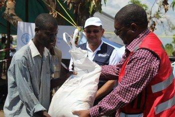 Organizações humanitárias continuam prestando socorro aos moçambicanos.