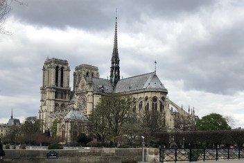 La cathédrale Notre-Dame de Paris, avant l'incendie du 15 avril 2019 (archive)