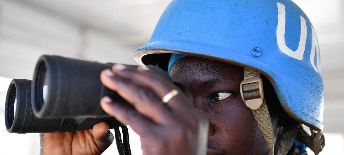 Service and Sacrifice: Ugandan 'Blue Helmets' support UN