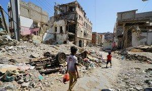 Conflito no Iémen já dura cinco anos.