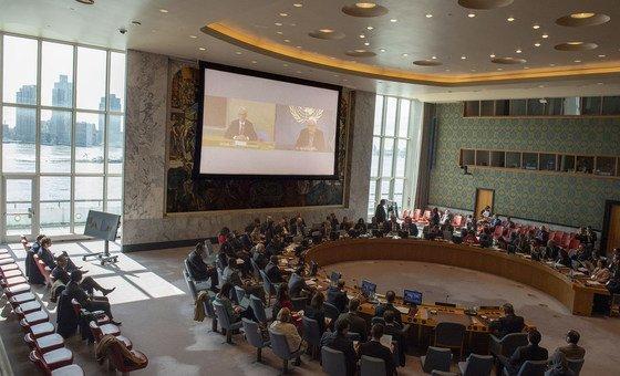 احتماع مجلس الأمن الدولي لمناقشة الأوضاع في اليمن.