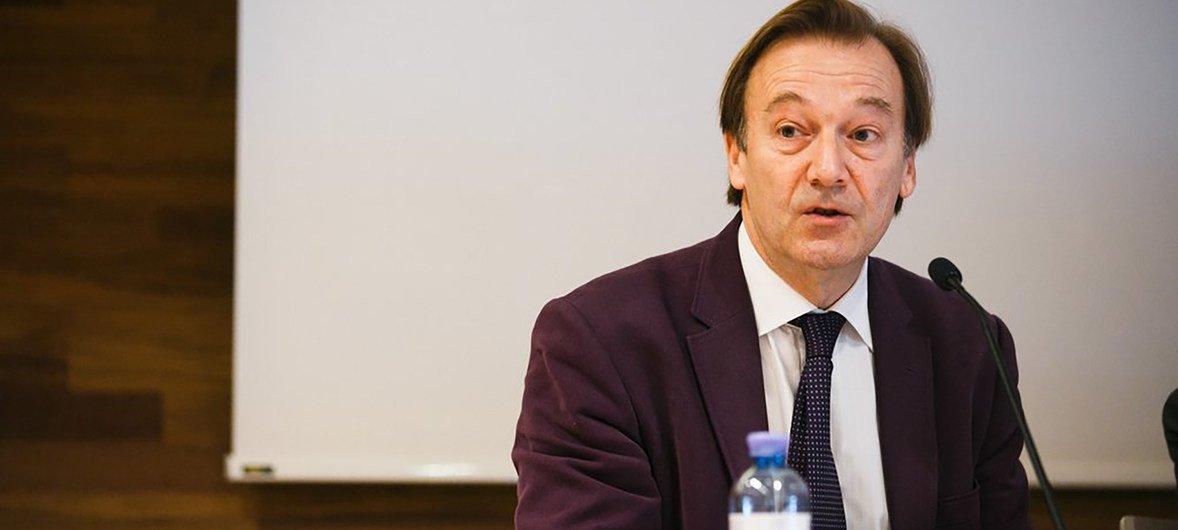 Автор доклада о среднем классе, эксперт ОЭСР Майкл Форстер