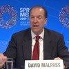 世界银行行长戴维∙马尔帕斯(David Malpass)。