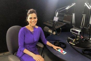 Vanessa Hauc, periodista ganadora del Premio Emmy y confundadora de la ONG Sachamama.