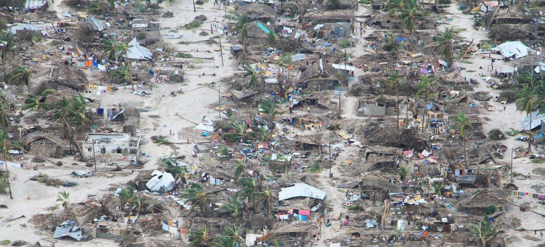 As necessidades agravadas por secas e inundações consecutivas em Moçambique podem prejudicar a colheita de março de 2020.