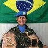 Andréa Firmo comandou tropas de paz das Nações Unidas na área de Tifriti, no Saara Ocidental
