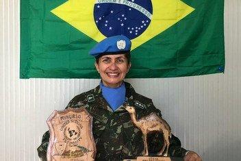 Andreia Firmo comandou tropas de paz das Nações Unidas na área de Tifriti, no Saara Ocidental