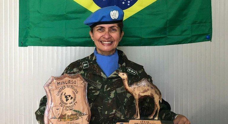 Resultado de imagem para 'E essa mulher fui eu, do Brasil', diz militar que liderou tropas de paz na África