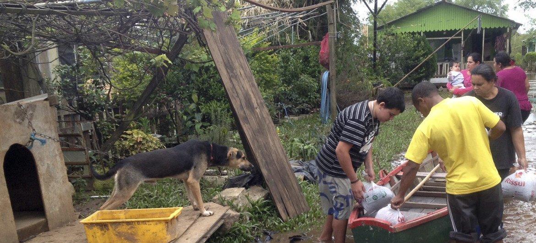 Brasil sofreu o impacto de 70  desastres que afetaram quase 70 milhões de pessoas.