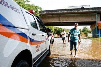 巴西阿雷格里港2015年的水灾是这个港口城市历史上最严重的灾害。