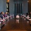 O ciclone Kenneth foi tema da conversa entre o secretário-geral da ONU, António Guterres, e o presidente de Moçambique, Filipe Nyusi, em Pequim.