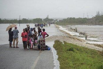 Ciclone Kenneth causou grandes danos em Moçambique.