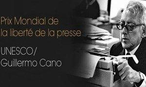Prix Mondial de la liberté de la presse UNESCO/Guillermo Cano