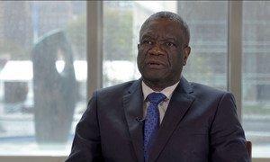 Le médecin congolais Denis Mukwege plaide la cause des victimes de violence sexuelle