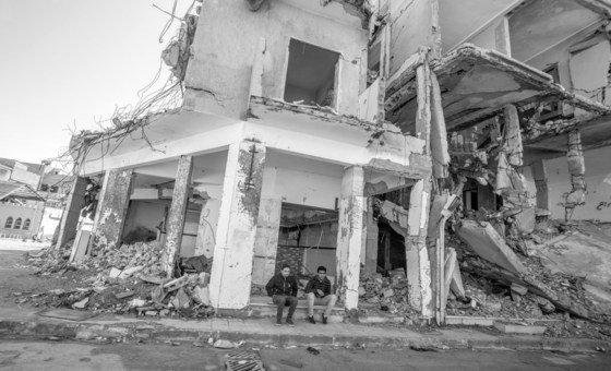 Разрушения в Триполи, Ливия
