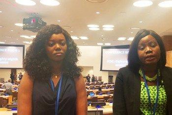 نياشاونكا وأليزا.. فتاتان من جنوب السودان تسعيان لإنهاء معاناة النساء في بلادهما