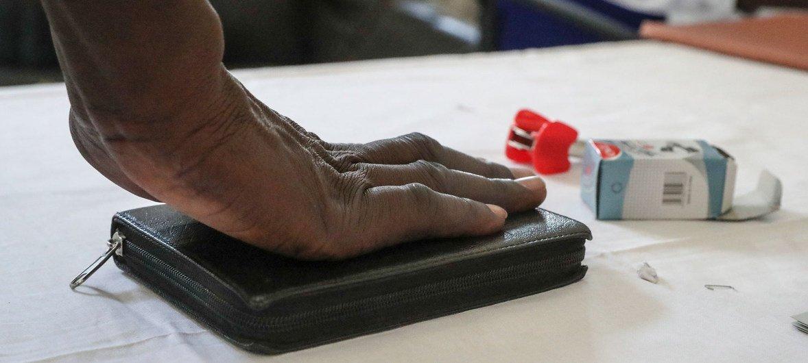 Un testigo en la corte móvil de Bentiu, en Sudán del Sur
