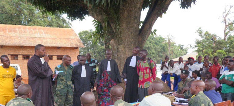 La MONUSCO apoya las cortes móviles de Dungu, en la República Democrática del Congo.