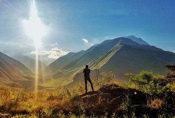Amanecer en la provincia de Carchi, en Ecuador