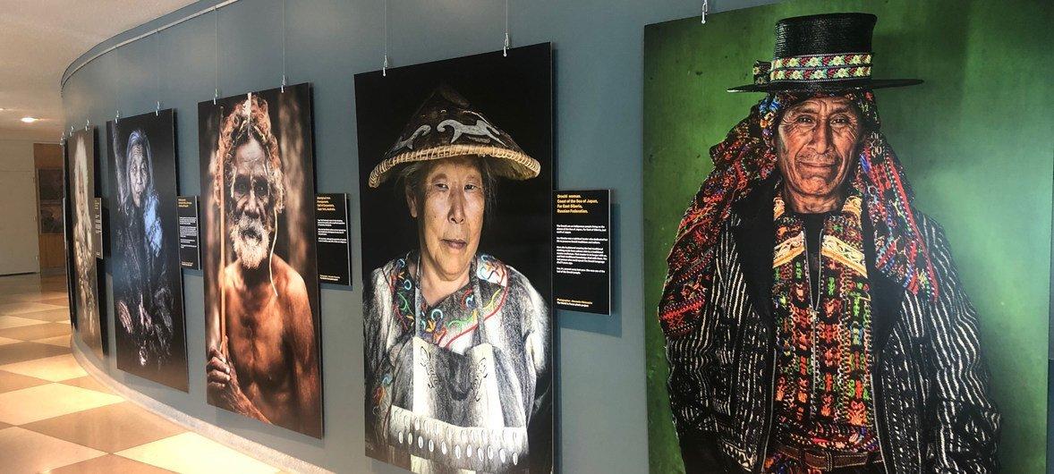 Выставка «Мир в лицах» рассказывает о культуре коренных народов из самых разных стран мира.
