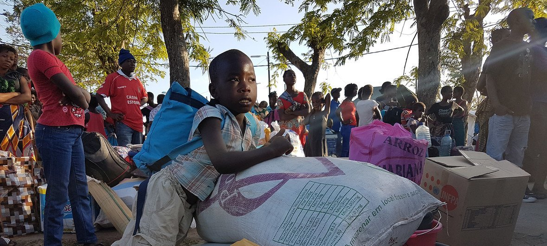 Segundo o Unicef, mais de 120 mil crianças foram afetadas pelo ciclone Kenneth, a tempestade mais forte já registada no extremo norte de Moçambique.
