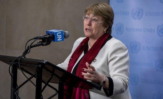 La Haut-Commissaire des Nations Unies aux droits de l'homme Michelle Bachelet (archives).