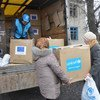 В первые шесть месяцев 2019 года гуманитарные учреждения оказали помощь и защиту примерно 650 тысячам украинцев, проживающим по обеим сторонам «линии соприкосновения».