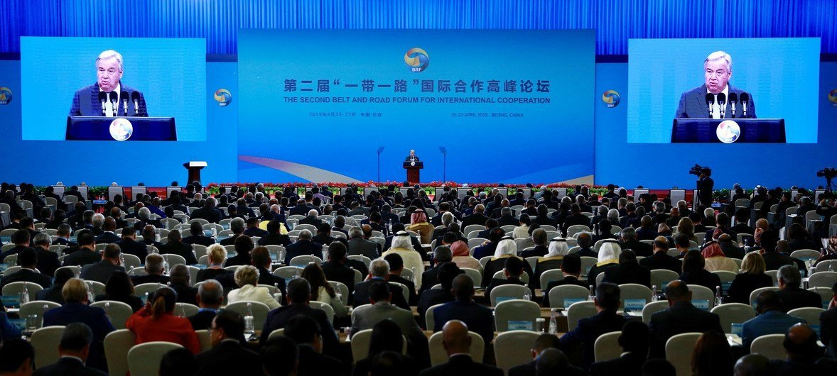 At China's Belt and Road Forum, Guterres calls for