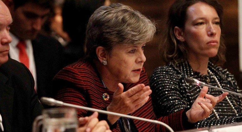 Alicia Bárcena, Executive Secretary for the Economic Commission for Latin America and the Caribbean