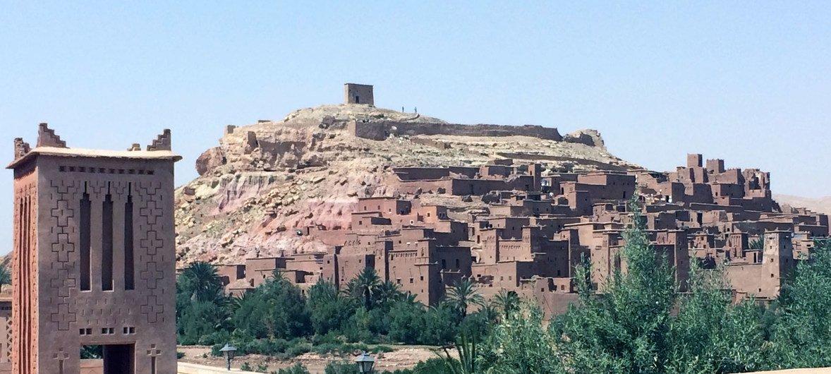 Ait-Ben-Haddou (Morocco).