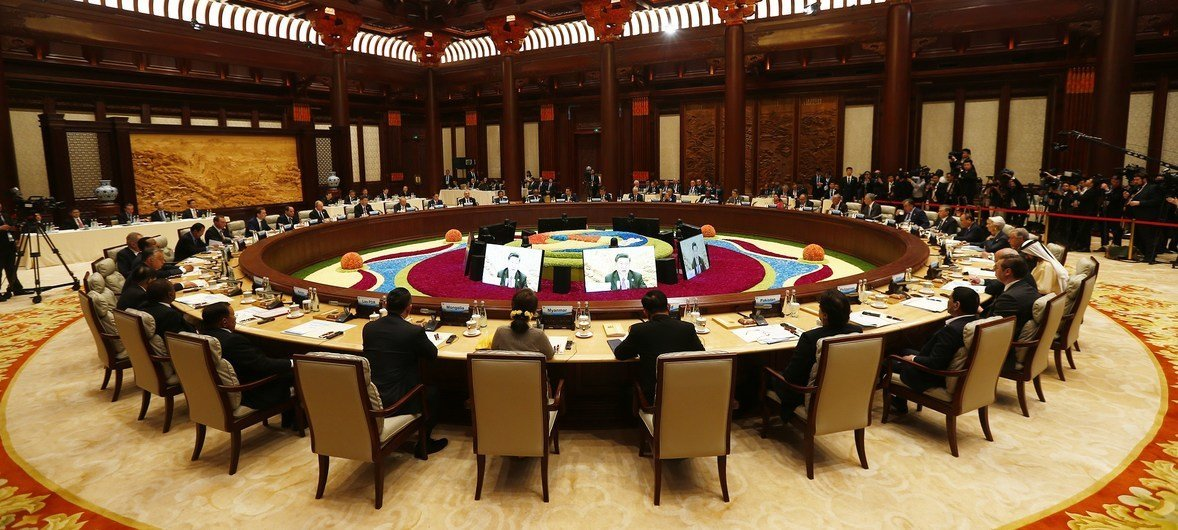 Leader's Roundtable on Promoting Green and Sustainable Development to Implement the 2030 Agenda was held in Beijing, China on 27, April, 2019