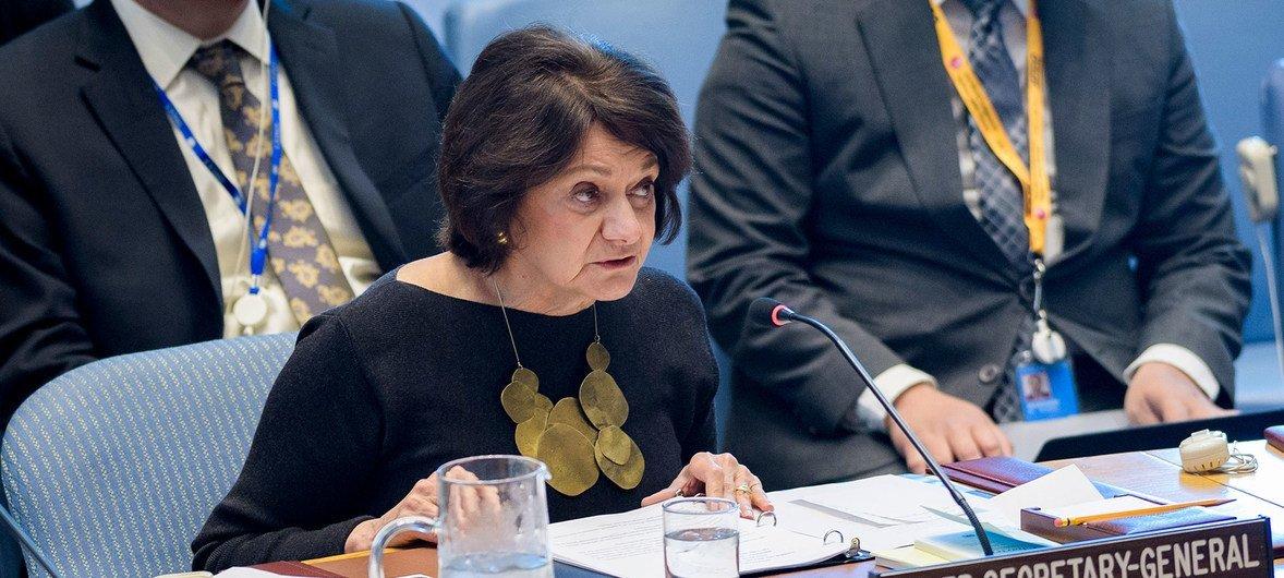 Заместитель Генерального секретаря по политическим вопросам и вопросам миростроительства Розмари Дикарло